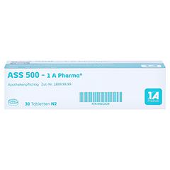 ASS 500-1A Pharma 30 Stück N2 - Unterseite