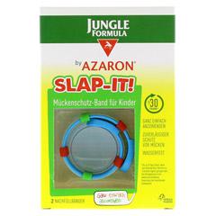 JUNGLE Formula by AZARON SLAP-IT Mückenschutz-Band 2 Stück - Vorderseite