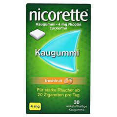 Nicorette 4mg freshfruit 30 Stück - Vorderseite