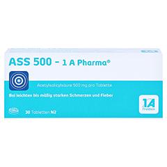 ASS 500-1A Pharma 30 Stück N2 - Vorderseite