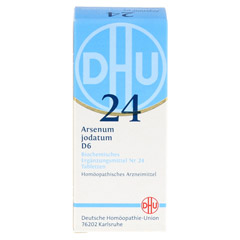 BIOCHEMIE DHU 24 Arsenum jodatum D 6 Tabletten 80 Stück N1 - Vorderseite