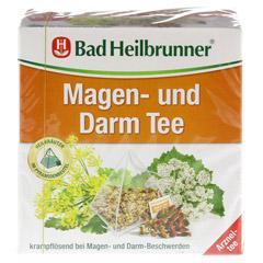 BAD HEILBRUNNER Tee Magen und Darm Pyramidenbeutel 15 Stück - Vorderseite