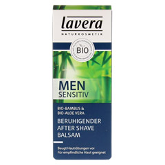 LAVERA Men sensitiv beruhigend.After Shave Balsam 50 Milliliter - Vorderseite