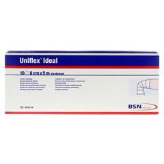 UNIFLEX ideal Binden 8 cmx5 m weiß lose 10 Stück - Vorderseite