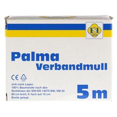 PALMA Verbandmull 80 cm 5 m zickzack Lagen 1 Stück - Vorderseite