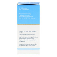 BIOCHEMIE DHU 23 Natrium bicarbonicum D 6 Tabl. 80 Stück - Linke Seite