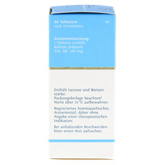 BIOCHEMIE DHU 15 Kalium jodatum D 6 Tabletten 80 Stück N1 - Linke Seite