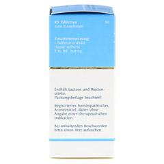 BIOCHEMIE DHU 18 Calcium sulfuratum D 6 Tabletten 80 Stück N1 - Linke Seite