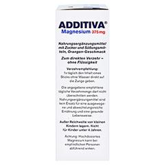 ADDITIVA Magnesium 375 mg Sticks Orange 20 Stück - Rechte Seite