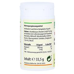 VITAMIN C 300 mg+Zink Depot Kapseln 60 Stück - Rechte Seite