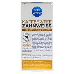 PERLWEISS Kaffee & Tee Zahnweiß 50 Milliliter - Rückseite