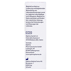 BLEPHACURA Suspension 70 Milliliter - Rückseite