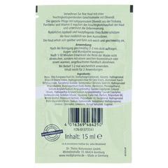 Olivenöl Feuchtigkeitsmaske 15 Milliliter - Rückseite