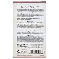 LUVOS Anti-Aging-Maske 2x7.5 Milliliter - Rückseite