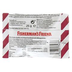 FISHERMANS FRIEND Cherry ohne Zucker Pastillen 25 Gramm - Rückseite
