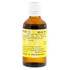 MERIDIANKOMPLEX 11 Tropfen zum Einnehmen 50 Milliliter N1 - Rückseite