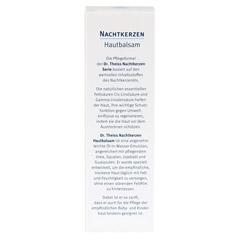 DR.THEISS Nachtkerzen Hautbalsam 100 Milliliter - Rückseite