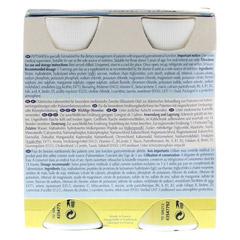 PEPTAMEN Vanille flüssig 4x200 Milliliter - Rückseite
