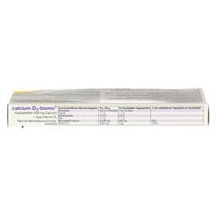 CALCIUM D3 biomo Kautabletten 500+D 20 Stück - Unterseite