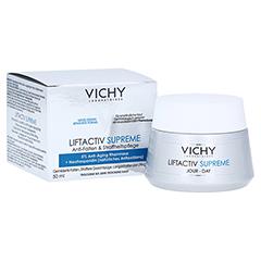 Vichy Liftactiv Supreme Anti-Age Tagespflege für trockene Haut + gratis VICHY LIFTACTIV Nachtcreme 15 ml 50 Milliliter