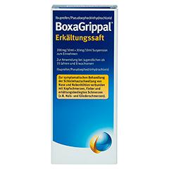 BoxaGrippal Erkältungssaft 180 Milliliter - Rückseite