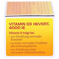 VITAMIN D3 Hevert 4.000 I.E. Tabletten 60 Stück - Linke Seite