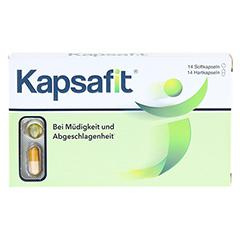 KAPSAFIT Kapseln 14x2 Stück - Vorderseite