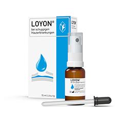 LOYON bei schuppigen Hauterkrankungen Lösung 15 Milliliter