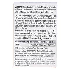 Avitale Lactase 3500 FCC 100 Stück - Rückseite