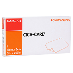 CICA CARE 6x12 cm dünne Silikongelplat.z.Narbenb. 1 Stück