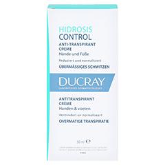 DUCRAY HIDROSIS CONTROL Hand- und Fußcreme 50 Milliliter - Vorderseite