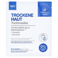 DERMASEL Therapie Tuchmaske trockene Haut 1 Stück