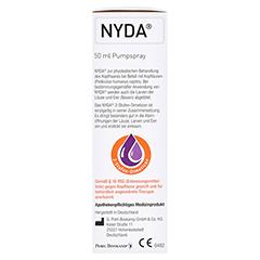 NYDA Pumplösung 50 Milliliter - Linke Seite