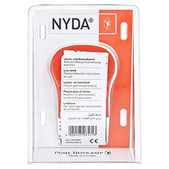NYDA Läuse- und Nissenkamm Metall 1 Stück - Rückseite