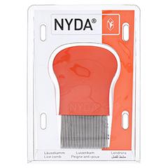 NYDA Läuse- und Nissenkamm Metall 1 Stück - Vorderseite