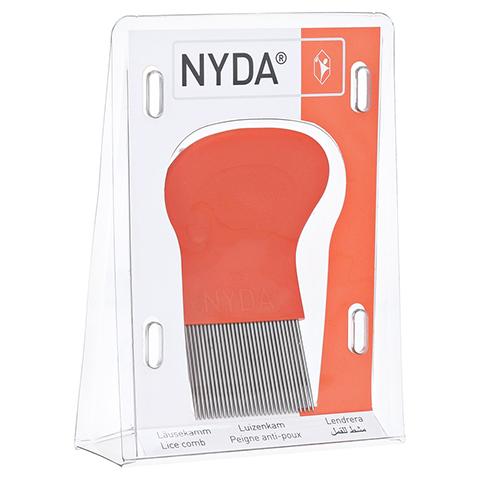 NYDA Läuse- und Nissenkamm Metall 1 Stück