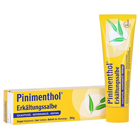 Pinimenthol Erkältungssalbe 50 Gramm N2