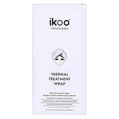 ikoo Thermal Treatment Wrap - Detox & Balance 5 Stück - Vorderseite