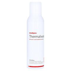 medpex Thermalwasser 150 Milliliter - Rückseite