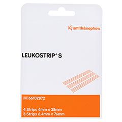 Leukostrip S Wundnahtstreifen 2 Blatt a 3/4 Stropfen 2 Packung
