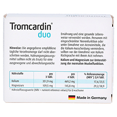 TROMCARDIN duo Tabletten 90 Stück - Rückseite