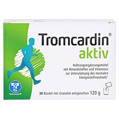 TROMCARDIN aktiv Granulat Beutel 20 Stück - Vorderseite