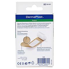 DERMAPLAST PROTECT Pflasterstrips 19x72 mm 20 Stück - Rückseite