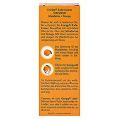 KNEIPP BADE-ESSENZ stressfrei 100 Milliliter - Rückseite