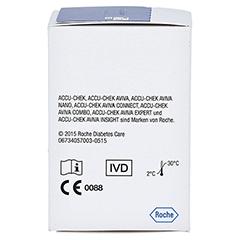 ACCU CHEK Aviva Teststreifen Plasma II CPC 1x50 Stück - Rechte Seite