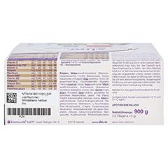 XLIM Aktiv Mahlzeit Riegel Schoko-Vanille 12x75 Gramm - Rückseite