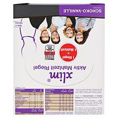 XLIM Aktiv Mahlzeit Riegel Schoko-Vanille 12x75 Gramm - Oberseite