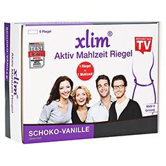 XLIM Aktiv Mahlzeit Riegel Schoko-Vanille 6x75 Gramm