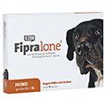 FIPRALONE 402 mg Lsg.z.Auftropf.f.sehr gr.Hunde 4 Stück