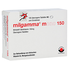 MILGAMMA mono 150 überzogene Tabletten 100 Stück N3